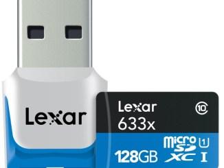 128GB microSDXC 633x w 3 0Reader 0