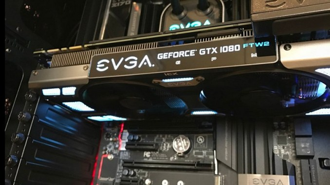 EVGA Teases GTX 1080 FTW2 With iCX Cooling - FunkyKit