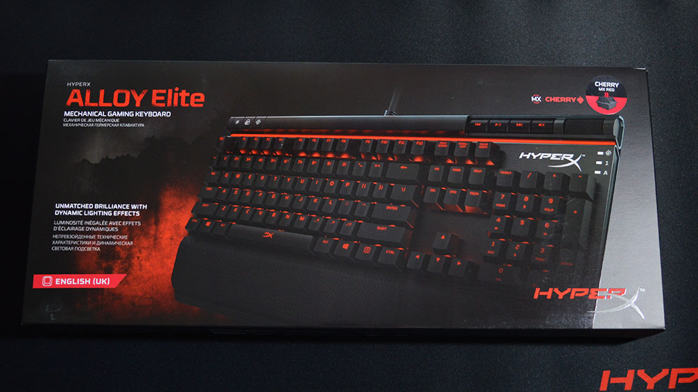 HyperX Alloy Elite Mechanical Gaming Keyboard Review