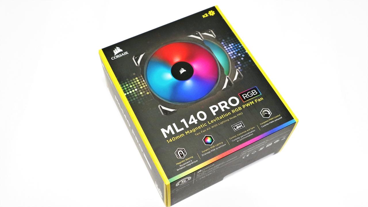 Corsair ML140 Pro RGB LED 140mm Premium Magnetic Levitation
