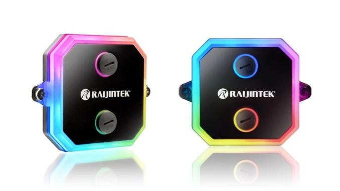 Raijintek Intros CWB-RGB CPU Water Block with Addressable RGB LED