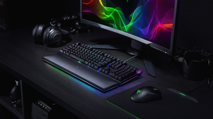 Razer Launches Huntsman Keyboard Featuring Razer Opto-Mechanical