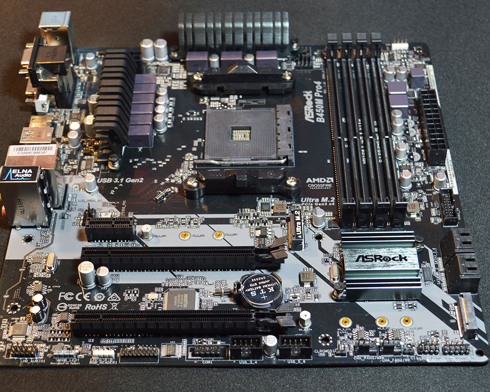 ASRock B450M Pro4 Motherboard Review - Page 7 of 7 - FunkyKit