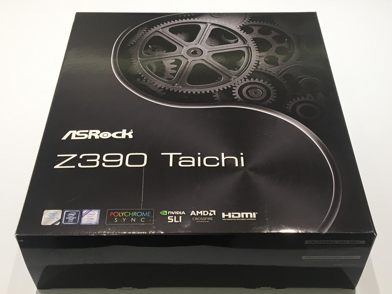 ASRock Z390 Taichi Motherboard Review - FunkyKit