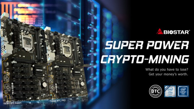 BIOSTAR Presents Professional Crypto Mining Motherboards