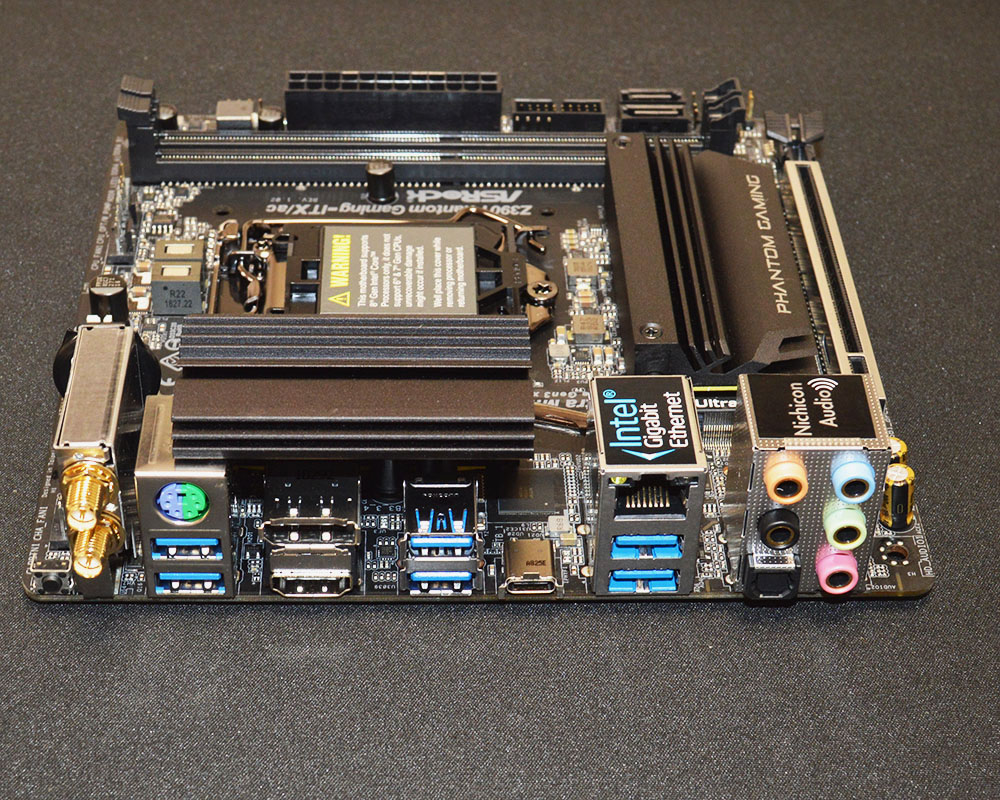 ASRock Z390 Phantom Gaming-ITX/ac Motherboard Review - Page 7 of 7