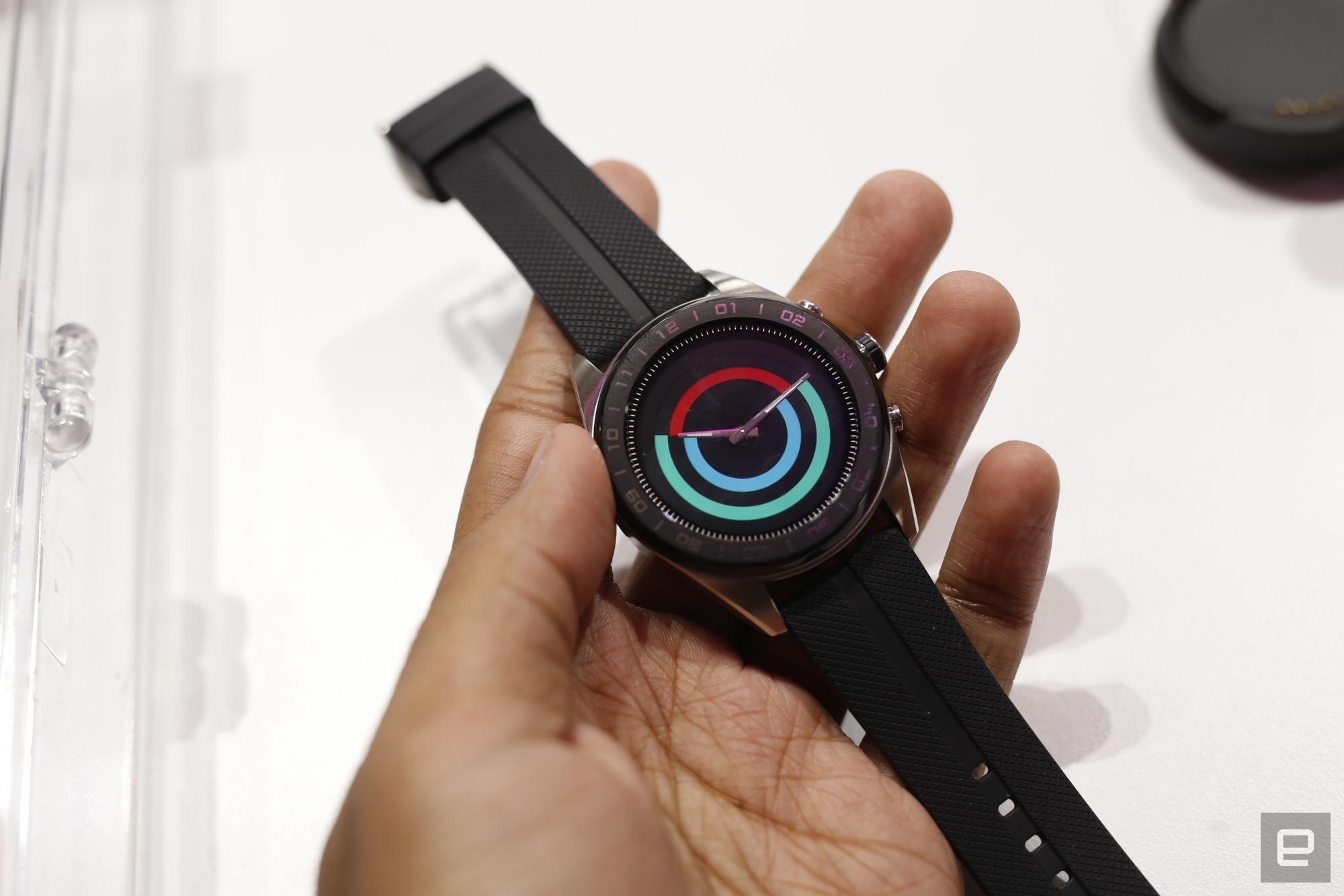LG hybrid smart watch 2