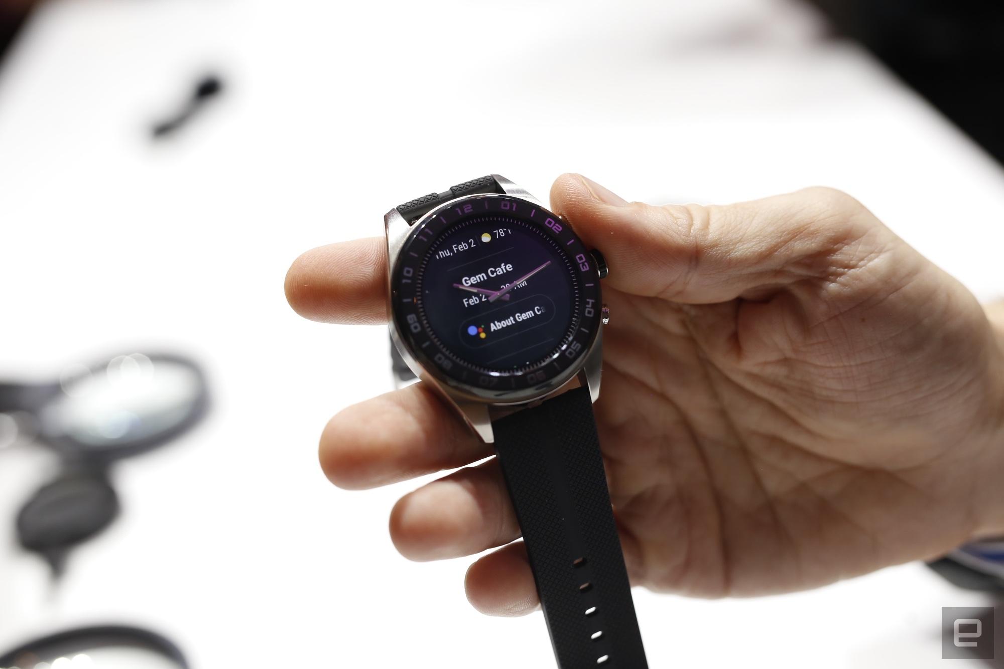 LG hybrid smart watch 4