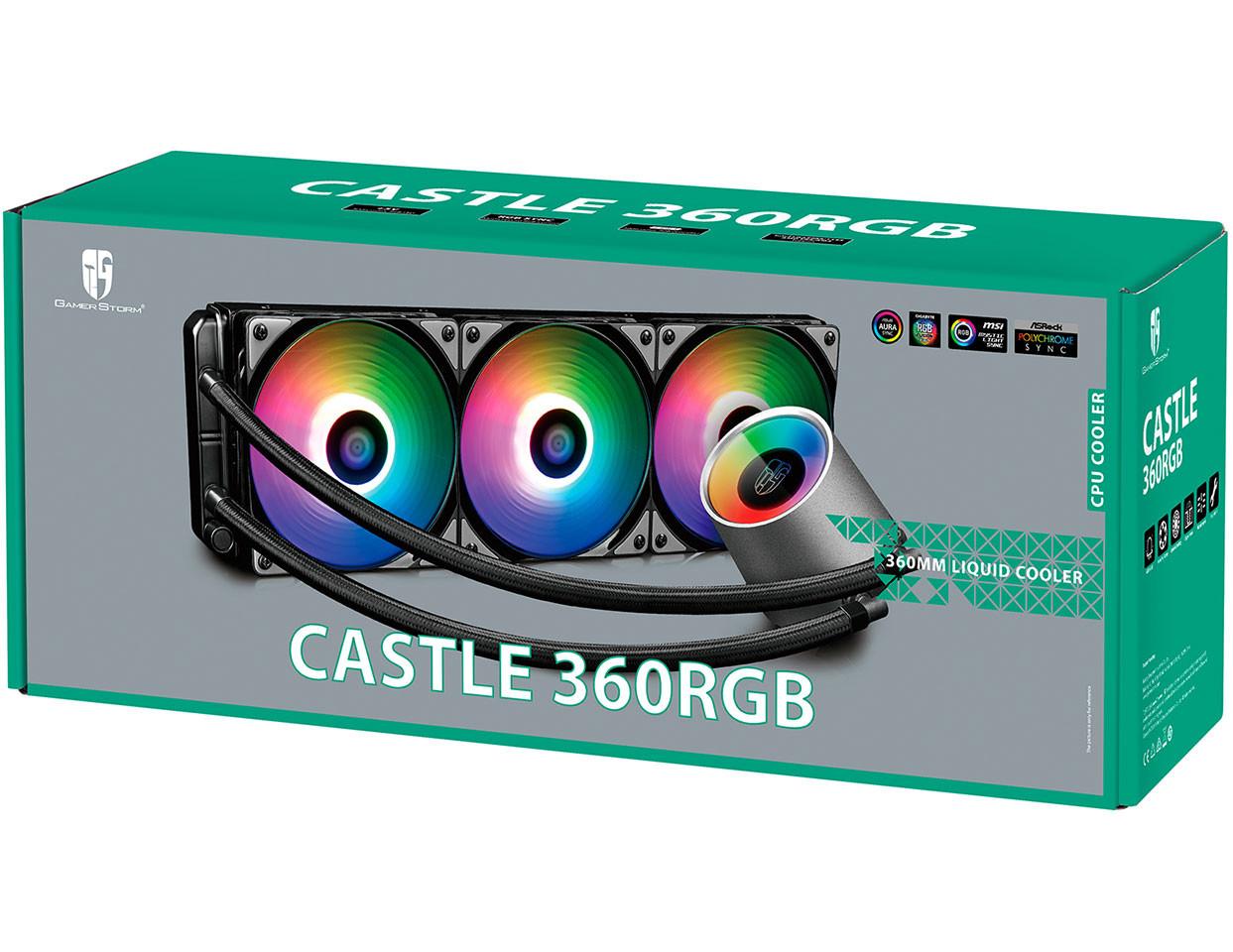 DeepCool Castle 360 RGB AIO 5