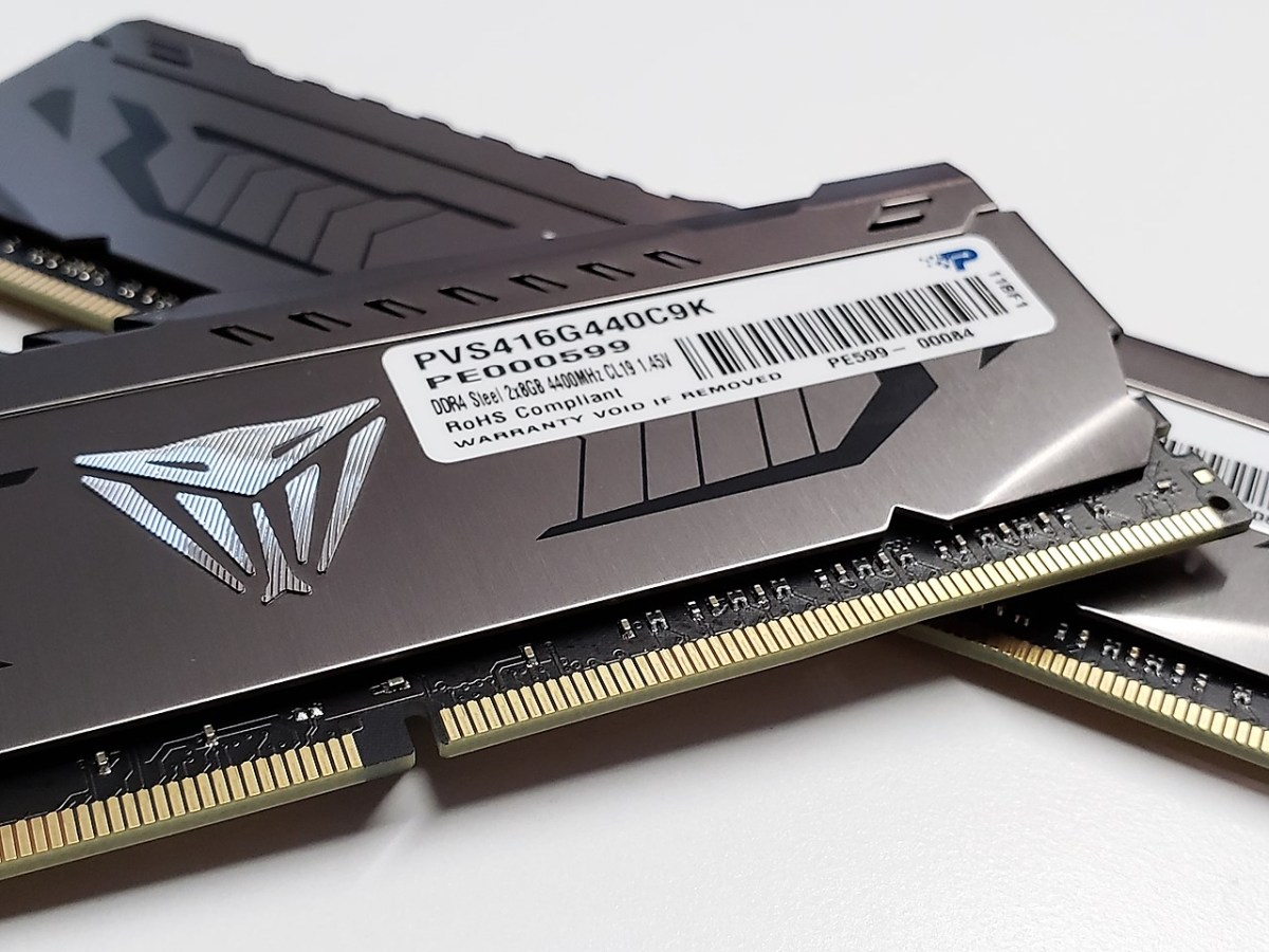 Patriot Viper Steel Series 16GB (2x8GB) DDR4-4400MHz Memory Kit Review