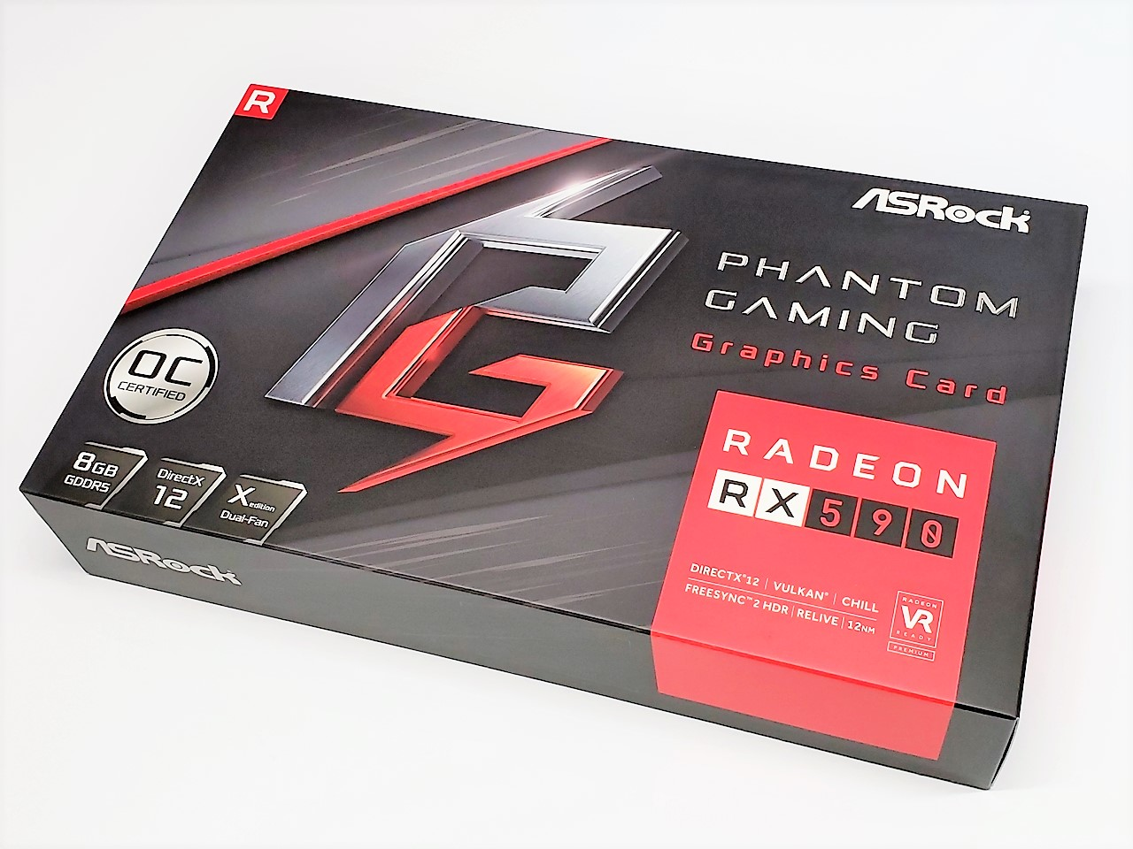 ASRock Radeon RX 590 8G OC Graphics Card (8GB GDDR5) Review