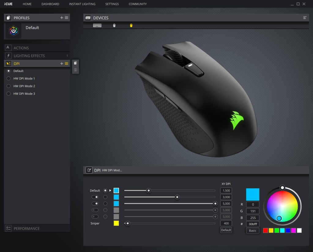 Corsair Ironclaw RGB Gaming Mouse Review - Page 5 of 6