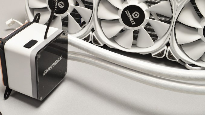Enermax LIQTECH II 360 White CPU Cooler Review