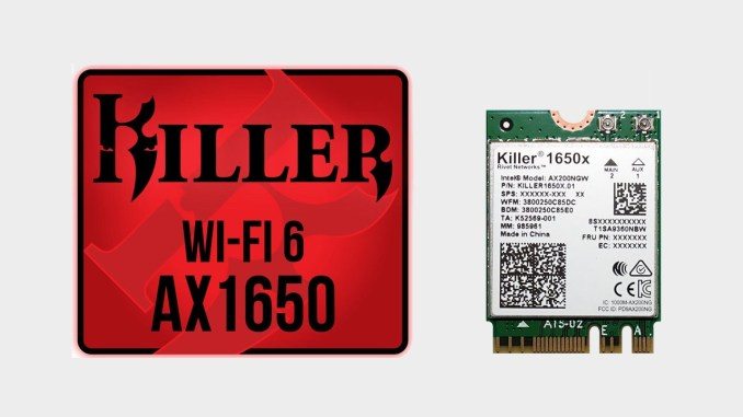 Rivet Networks Releases Wi-Fi 6-capable Killer AX1650 WLAN