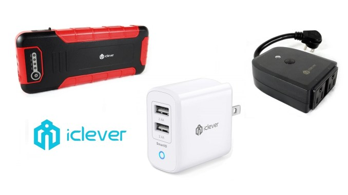 iClever Smart Plug Socket, Car Jump Starter and USB Wall Charger Review