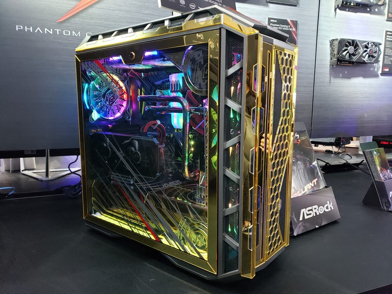 Computex 2019: ASRock - X570 Aqua, Radeon RX570 Motherboard And Mods