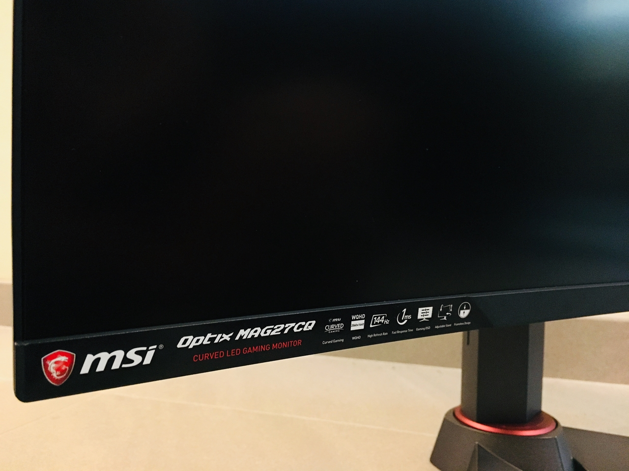 MSI Optix MAG27CQ Curved Gaming Monitor Review - FunkyKit