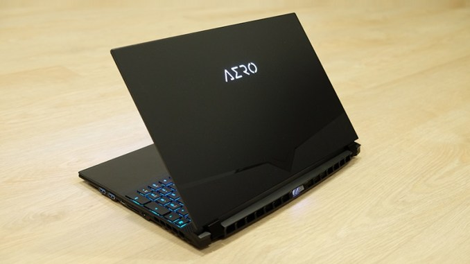 Gigabyte AERO 15 OLED XA (with RTX 2070) Laptop Review