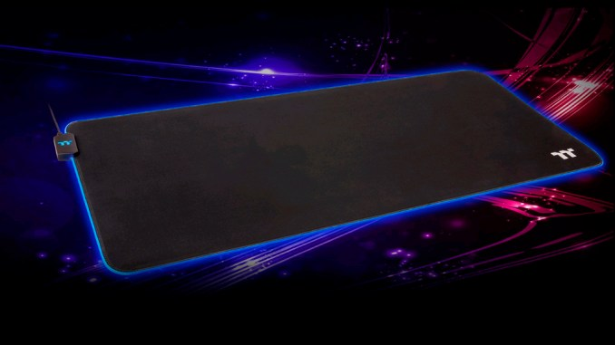 Thermaltake Premium Level 20 RGB Extended Gaming Mouse Pad Review