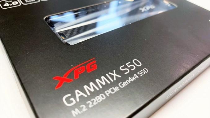 ADATA XPG GAMMIX S50 1TB PCIe Gen4x4 M.2 SSD Review