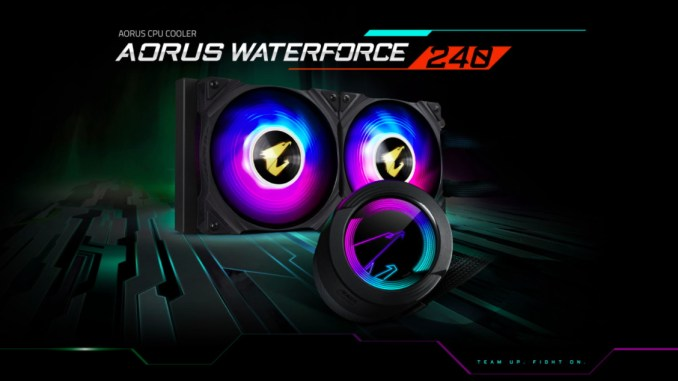 Gigabyte AORUS Waterforce 240 AIO CPU Cooler Review