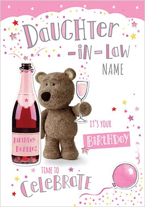 Send Daughter In Law Birthday Cards Funky Pigeon