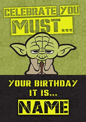 Star Wars Birthday Cards For Kids Funky Pigeon