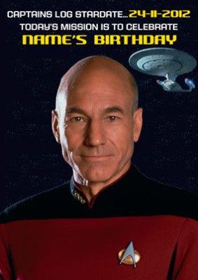 Star Trek Birthday Cards Official Funky Pigeon