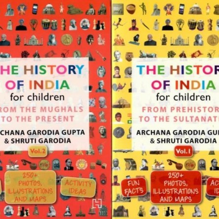 THE HISTORY OF INDIA FOR CHILDREN – VOL 1 & 2