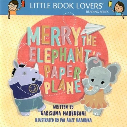 MERRY THE ELEPHANT'S PAPER PLANE