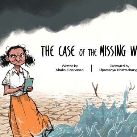 THE CASE OF THE MISSING WATER