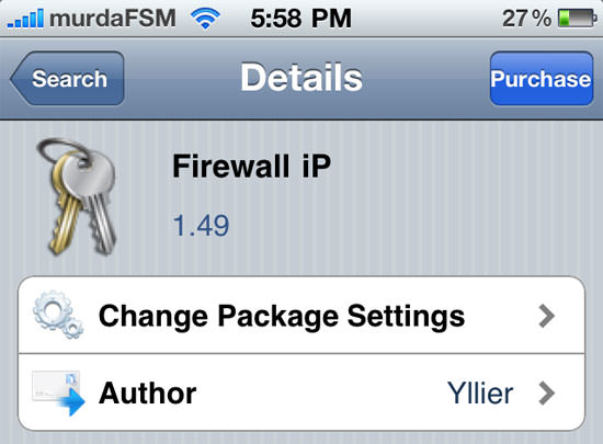 Firewall iP: The First And Only Firewall For iOS, Got Updated To v2.0