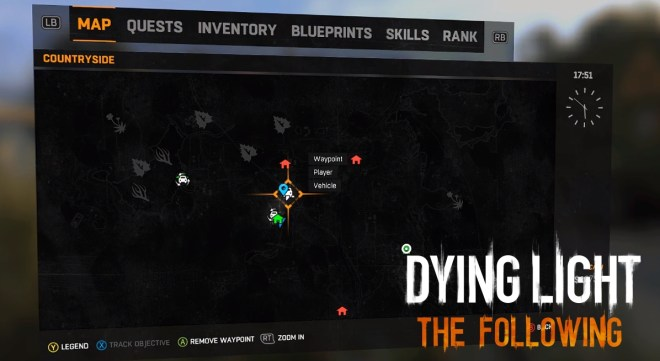 Dying Light The Following Crossbow Location