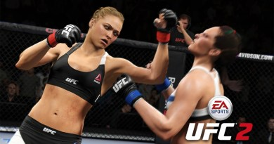 EA Sports UFC 2 Out of The Ring Glitch