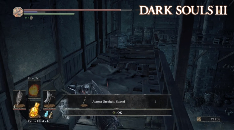 Dark Souls 3 How to Find Astora Straight Sword