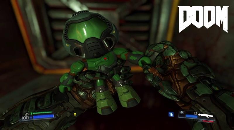 Doom 2016 Find All Doomguy Collectibles