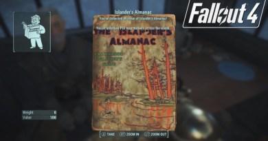 Fallout 4 Far Harbor Islander's Almanac Locations