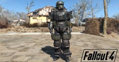 Fallout 4 Far Harbor Marine Armor Set