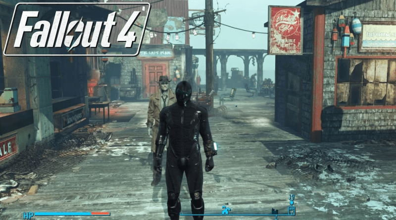 Fallout 4 Far Harbor Marine Wetsuit & Tactical Helmet