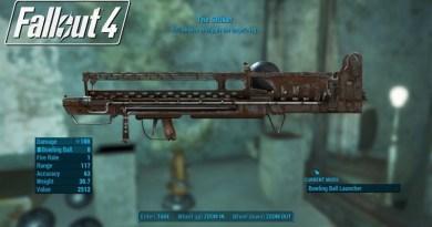 Fallout 4 Far Harbor The Striker Weapon Location
