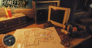 Homefront The Revolution Journals Location Guide