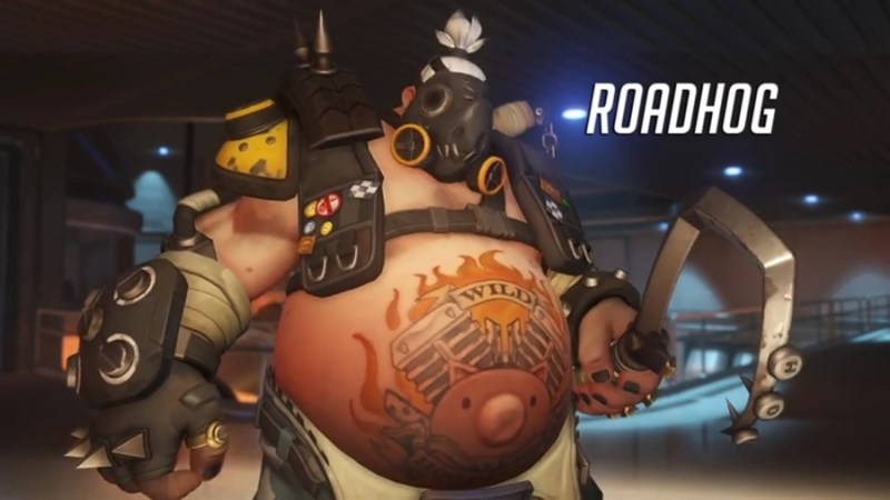 Overwatch Best Heroes - ROADHOG