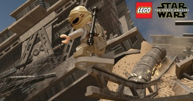 Lego Star Wars The Force Awakens Customizing Characters
