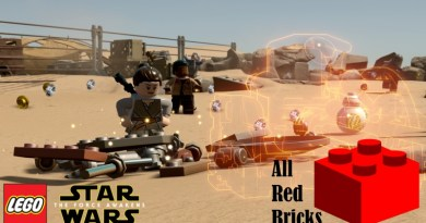 Lego Star Wars The Force Awakens Red Bricks Locations