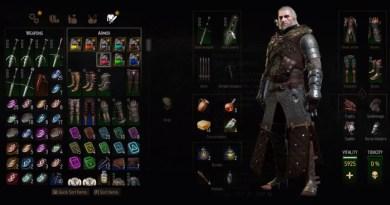 The Witcher 3 Blood and Wine Grandmaster Ursine Bear Gear