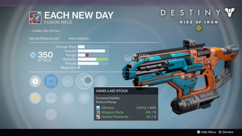 Best Vendor Weapons in Destiny Rise of Iron - Each New Day