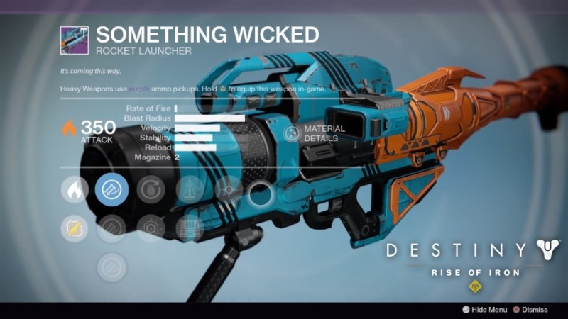 Best Vendor Weapons in Destiny Rise of Iron - Something Wicked