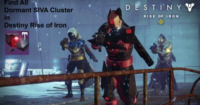 How to Find Every Dormant SIVA Cluster in Destiny Rise of Iron