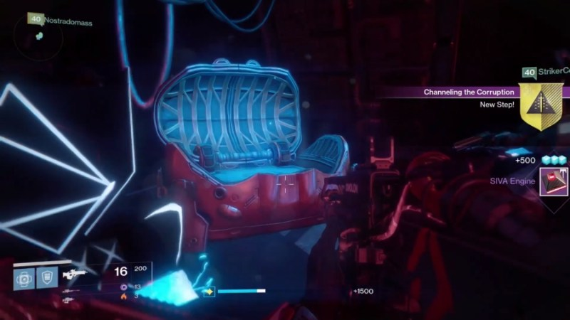 How to Get Outbreak Prime Exotic Weapon in Destiny Rise of Iron - SIVA Engine