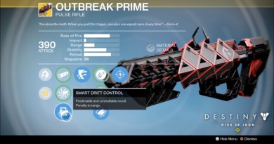 How to Get Outbreak Prime Exotic Weapon in Destiny Rise of Iron